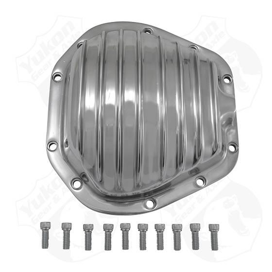 Yukon Gear & Axle - Yukon Gear Polished Aluminum Replacement Cover For Dana 60 Reverse Rotation