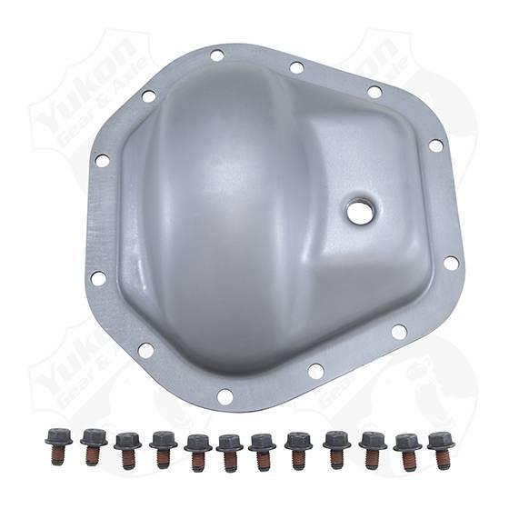 Yukon Gear & Axle - Yukon Gear Steel Cover For Dana 60 Standard Rotation 02-08 GM Rear W/ 12 Bolt Cover