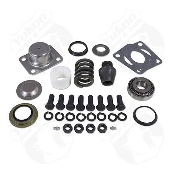 Yukon Gear & Axle - Yukon Gear Replacement King-Pin Kit For Dana 601 Side Pin Bushing Seals Bearings Spring Cap