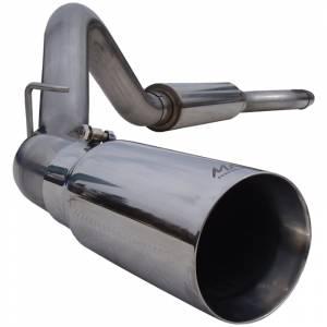 """Exhaust - Exhaust Systems - MBRP Exhaust - MBRP Exhaust 4"""" Cat Back, Single Side, T304 S6012304"""