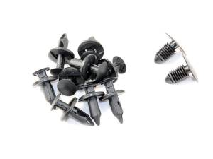 Exterior - Accessories - Merchant Automotive - Wheel Well Liner Kit, 10 Clips and 2 Panel Fasteners  , LB7 LLY LBZ , 2001-2007, Duramax