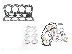 Engine Parts - Cylinder Head Parts - Merchant Automotive - LB7 Duramax Head Gasket Kit With Exhaust Manifold Gaskets, No Bolts