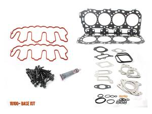 Engine Parts - Cylinder Head Parts - Merchant Automotive - LLY Head Gasket Kit with OEM Bolts, 2004.5-2005, Duramax