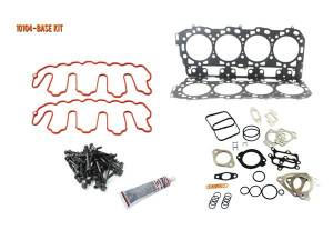 Engine Parts - Cylinder Head Parts - Merchant Automotive - LBZ Head Gasket Kit with OEM Head Bolts, Duramax