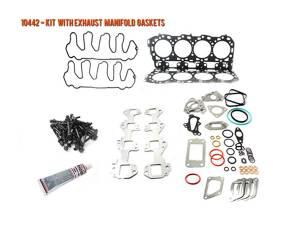 Engine Parts - Cylinder Head Parts - Merchant Automotive - LML Duramax Head Gasket Kit w  Exhaust Manifold Gaskets and OEM Head Bolts,  2011-2016