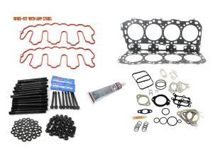 Engine Parts - Cylinder Head Parts - Merchant Automotive - LBZ Head Gasket Kit With ARP Studs, Duramax