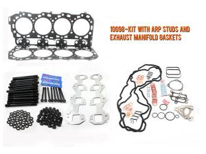 Engine Parts - Cylinder Head Parts - Merchant Automotive - LB7 Head Gasket Kit With ARP Studs and Exhaust Manifold Gaskets, Duramax