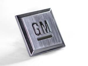 "Chevy/GMC Duramax - 2006-2007 GM 6.6L LLY/LBZ Duramax - Merchant Automotive - ""GM"" Emblem"