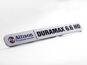 Chevy/GMC Duramax - 2011-2016 GM 6.6L LML Duramax - Merchant Automotive - Duramax HD Emblem