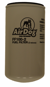 Fuel System & Components - Fuel System Parts - PureFlow AirDog - AirDog Fuel Filter, 2 Micron