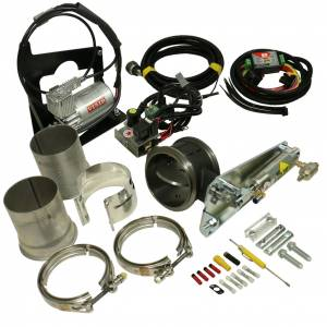 Exhaust - Exhaust Brakes - BD Diesel - BD Diesel Exhaust Brake - 2003-2005 Dodge Air/Remote 4in 1027338