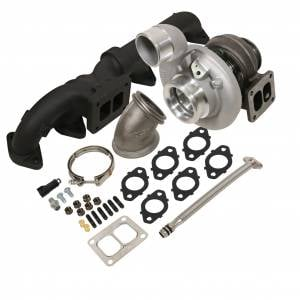 Turbo Chargers & Components - Turbo Charger Kits - BD Diesel - BD Diesel BD Iron Horn 5.9L Cummins Turbo Kit S363SXE/80 0.91AR Dodge 2003-2007 1045173