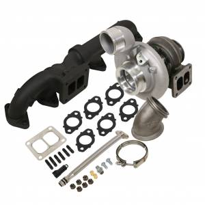 Turbo Chargers & Components - Turbo Charger Kits - BD Diesel - BD Diesel BD Iron Horn 5.9L Cummins Turbo Kit S364SXE/80 0.91AR Dodge 2003-2007 1045174