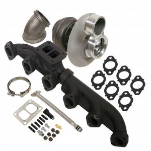 Turbo Chargers & Components - Turbo Charger Kits - BD Diesel - BD Diesel BD Iron Horn 5.9L Cummins Turbo Kit S366SXE/80 0.91AR Dodge 2003-2007 1045176