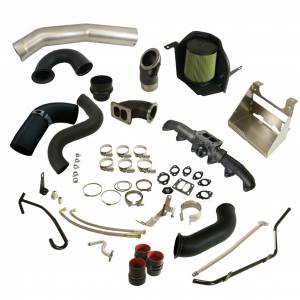 Turbo Chargers & Components - Turbo Charger Kits - BD Diesel - BD Diesel BD Cummins 5.9L/6.7L Cobra Turbo Install Kit Dodge 2003-09 w/S300SX-E Secondary 1045764