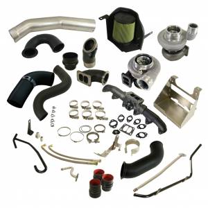 Turbo Chargers & Components - Turbo Charger Kits - BD Diesel - BD Diesel BD Cummins 5.9L Cobra Twin Turbo Kit S364.5SX-E / S480SX-E Dodge 2003-2007 5.9L 1045783