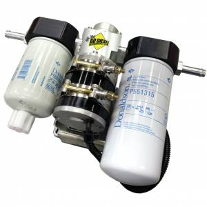 Fuel System & Components - Fuel System Parts - BD Diesel - BD Diesel Flow-MaX Fuel Lift Pump c/w Filter & Separator - Dodge 2005-2009 5.9L/6.7L 1050310DF