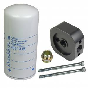Fuel System & Components - Fuel System Parts - BD Diesel - BD Diesel Flow-MaX Add-On Post Fine Particle Fuel Filter Kit 1050340-PFF