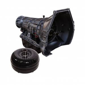 Transmission - Automatic Transmission Assembly - BD Diesel - BD Diesel BD Ford E4OD Transmission & Converter Package - 1995-1997 2wd c/w Filter Kit 1064422SM