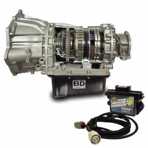 Transmission - Automatic Transmission Assembly - BD Diesel - BD Diesel BD Duramax Transmission c/w Pressure Controller Chevy 2011-2016 LML Allison 4wd 1064754
