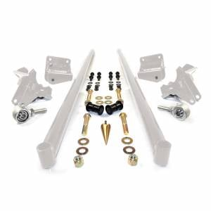 Steering And Suspension - Suspension Parts - HSP Diesel - 2011-2016 Chevrolet / GMC 58 Inch Bolt On Traction Bars 4 Inch Axle Diameter White HSP Diesel