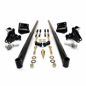 HSP Diesel - 2011-2016 Chevrolet / GMC 58 Inch Bolt On Traction Bars 4 Inch Axle Diameter Satin Black HSP Diesel