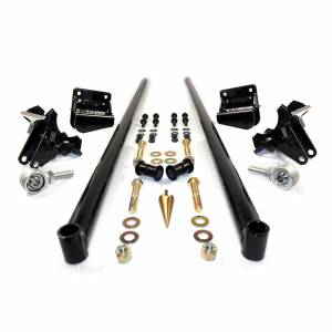 HSP Diesel - 2011-2016 Chevrolet / GMC 58 Inch Bolt On Traction Bars 4 Inch Axle Diameter Gloss Black HSP Diesel