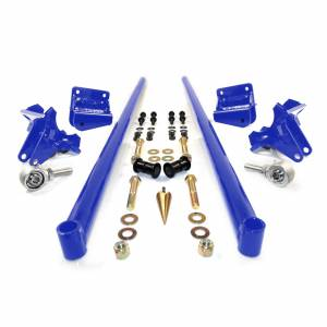 HSP Diesel - 2011-2016 Chevrolet / GMC 58 Inch Bolt On Traction Bars 4 Inch Axle Diameter Candy Blue HSP Diesel