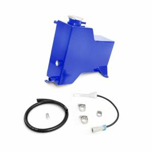 2011-2014 Chevrolet / GMC Factory Replacement Coolant Tank Candy Blue HSP Diesel