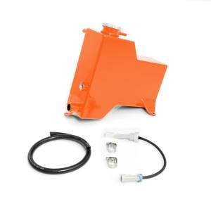 2007.5-2010 GM 6.6L LMM Duramax - Cooling System - HSP Diesel - 2007.5-2010 Chevrolet / GMC Factory Replacement Coolant Tank Orange HSP Diesel