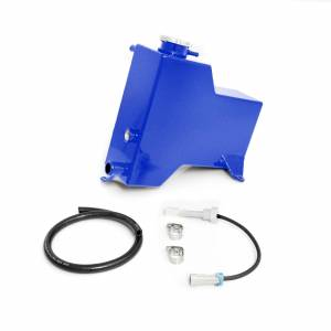 2007.5-2010 GM 6.6L LMM Duramax - Cooling System - HSP Diesel - 2007.5-2010 Chevrolet / GMC Factory Replacement Coolant Tank Candy Blue HSP Diesel