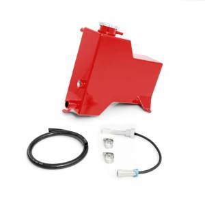 2007.5-2010 GM 6.6L LMM Duramax - Cooling System - HSP Diesel - 2007.5-2010 Chevrolet / GMC Factory Replacement Coolant Tank Blood Red HSP Diesel