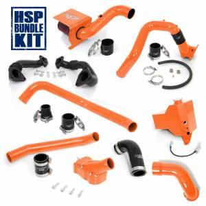 Air Intakes & Accessories - Air Intakes - HSP Diesel - 2006-2007 Chevrolet / GMC Deluxe Max Air Flow Bundle Orange HSP Diesel