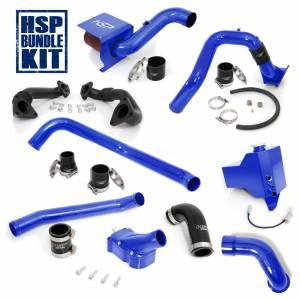 Air Intakes & Accessories - Air Intakes - HSP Diesel - 2006-2007 Chevrolet / GMC Deluxe Max Air Flow Bundle Candy Blue HSP Diesel