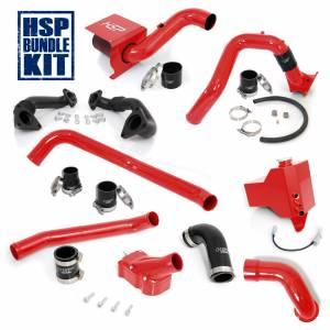 Air Intakes & Accessories - Air Intakes - HSP Diesel - 2006-2007 Chevrolet / GMC Deluxe Max Air Flow Bundle Blood Red HSP Diesel