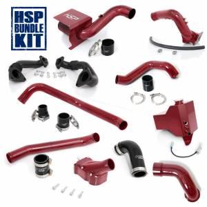 Air Intakes & Accessories - Air Intakes - HSP Diesel - 2004.5-2005 Chevrolet / GMC Deluxe Max Air Flow Bundle Candy Red HSP Diesel