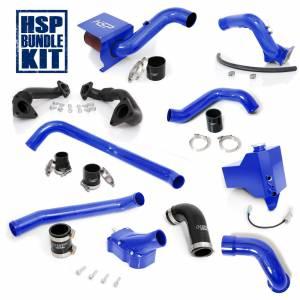 Air Intakes & Accessories - Air Intakes - HSP Diesel - 2004.5-2005 Chevrolet / GMC Deluxe Max Air Flow Bundle Candy Blue HSP Diesel