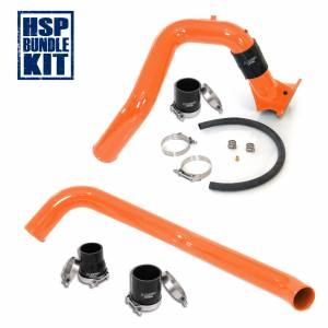 Turbo Chargers & Components - Intercoolers and Pipes - HSP Diesel - 2006-2010 Chevrolet / GMC Intercooler Charge Pipe Bundle Orange HSP Diesel