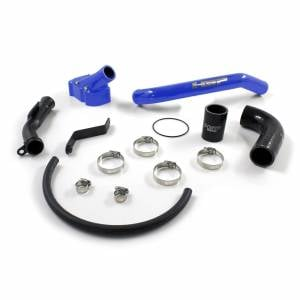 Shop By Part - Cooling System - HSP Diesel - 2006-2010 Chevrolet / GMC Billet Thermostat Housing Kit Candy Blue HSP Diesel