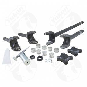 Yukon Gear & Axle - Yukon Gear Front Axle Kit 4340 Chrome-Moly Replacement For 77-91 GM Dana 60 With 30/35 Splines Yukon Super Joints