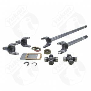 Yukon Gear & Axle - Yukon Gear Front Axle Kit 4340 Chrome-Moly Replacement For 77-91 GM Dana 60 With 30/35 Splines Spicer U-Joints