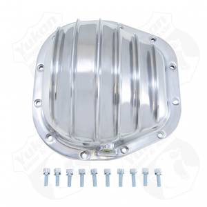 Steering And Suspension - Differential Covers - Yukon Gear & Axle - Yukon Gear Polished Aluminum Cover For 10.25 Inch Ford
