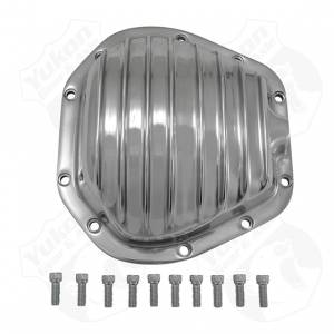 Steering And Suspension - Differential Covers - Yukon Gear & Axle - Yukon Gear Polished Aluminum Replacement Cover For Dana 60 Reverse Rotation