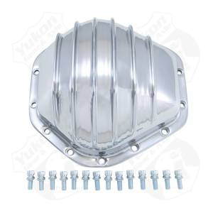 Yukon Gear Polished Aluminum Cover For 10.5 Inch GM 14 Bolt Truck