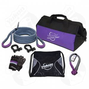 Shop By Part - Accessories - Yukon Gear & Axle - Yukon Gear Recovery Gear Kit With 3/4 Inch Kinetic Rope