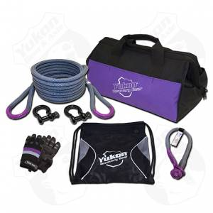 Shop By Part - Accessories - Yukon Gear & Axle - Yukon Gear Recovery Gear Kit With 7/8 Inch Kinetic Rope