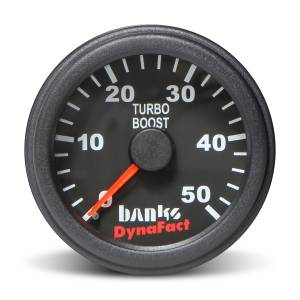 Gauges & Pods - Gauges - Banks Power - Banks Power Boost Gauge Kit 0-50 PSI 2-1/16 Inch Diameter (52.4mm)
