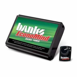 Shop By Part - Programmers & Tuners - Banks Power - Banks Power EconoMind Diesel Tuner (PowerPack Calibration) W/Switch 06-07 Chevy 6.6L LLY-LBZ