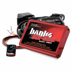 2004.5-2005 GM 6.6L LLY Duramax - Programmers & Tuners - Banks Power - Banks Power Six-Gun Diesel Tuner W/Switch 04-05 Chevy 6.6L LLY