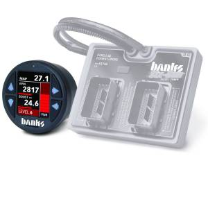2003-2007 Ford 6.0L Powerstroke - Programmers & Tuners - Banks Power - Banks Power Six-Gun Diesel Tuner with Banks iDash 1.8 Super Gauge for use with 2003-2007 Ford 6.0 Truck/2003-2005 Excursion